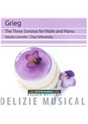 Grieg: The Three Sonatas for Violin and Piano (Music CD)