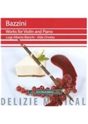 Bazzini: Works for Violin and Piano (Music CD)