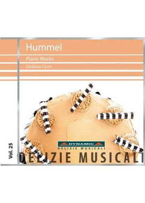 Hummel: Piano Works Vol. 1 (Music CD)