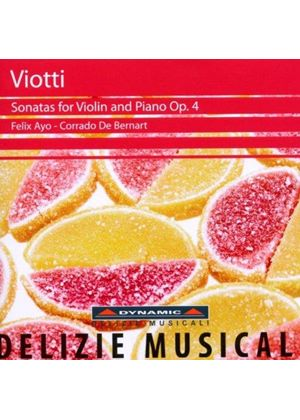 Giovanni Battista Viotti: Complete Violin Sonatas for Violin and Piano, Vol.1 (Op.4) (Music CD)