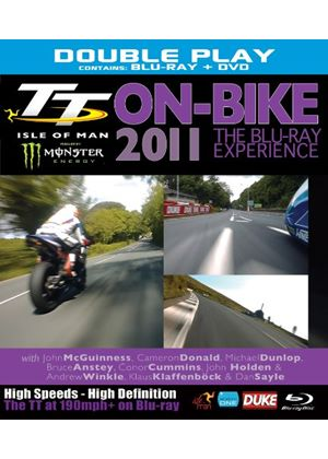 TT 2011 On-Bike Experience Blu-ray (Combi Pack)