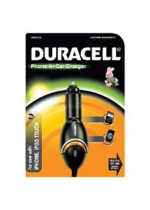 Duracell In-Car Charger for Apple iPhone/iPod