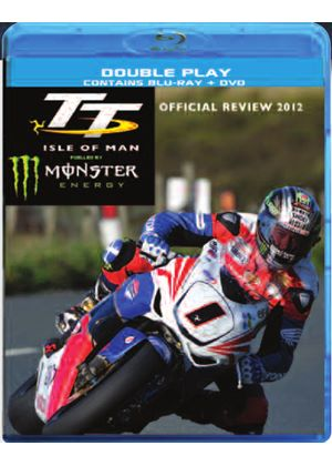 Isle Of Man TT Official Review 2012 (BluRay + DVD)