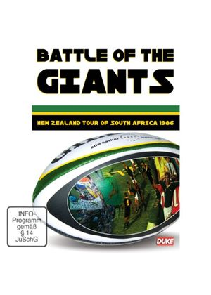 Battle Of The Giants - New Zealand vs South Africa [1986]
