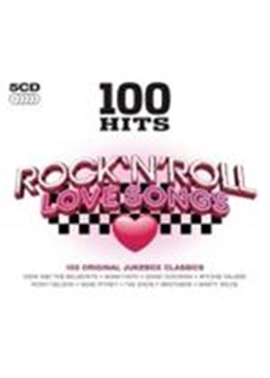 Various Artists - 100 Hits - Rock 'n' Roll Love Songs (Music CD)