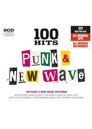 Various Artists - 100 Hits (Punk & New Wave) (Music CD)