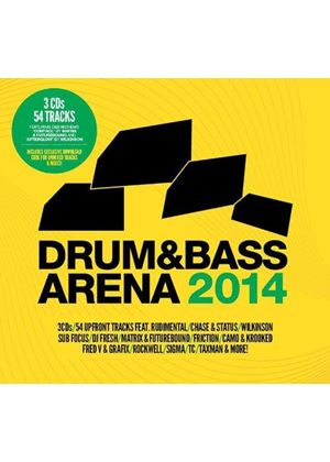 Various Artists - Drum & Bass Arena 2014 (Music CD)