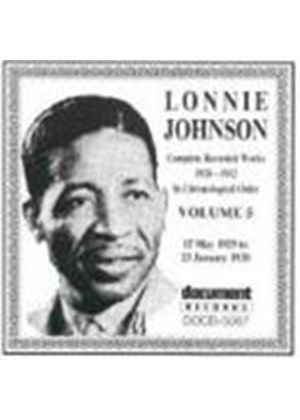 Lonnie Johnson - Lonnie Johnson Vol.5 1929-1930