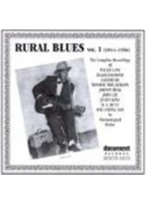 Various Artists - Rural Blues 1934-1956