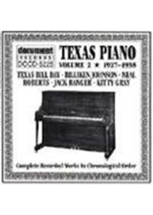 Various Artists - Texas Piano 1927-1938