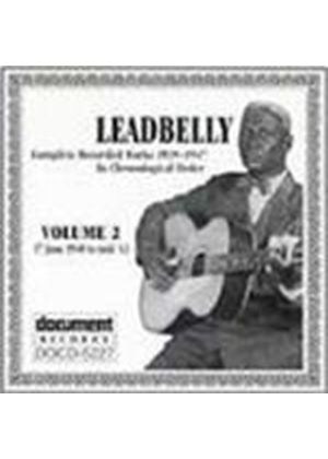 Leadbelly - Complete Recorded Works Vol.2 1940-1943