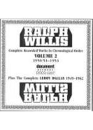 Ralph Willis - Ralph Willis Vol.2 1950-1953