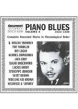 Various Artists - Piano Blues Vol.4 1923-1928