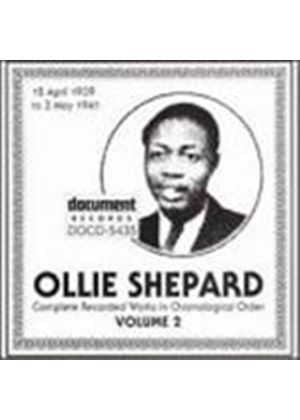 Ollie Shepard - Complete Recorded Works Vol.2 1939-1941