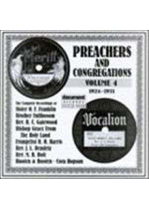 Various Artists - Preachers And Congregations Vol.4 1924-1931