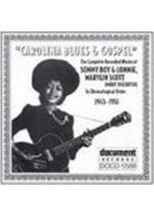 Various Artists - Carolina Blues And Gospel 1945-1951