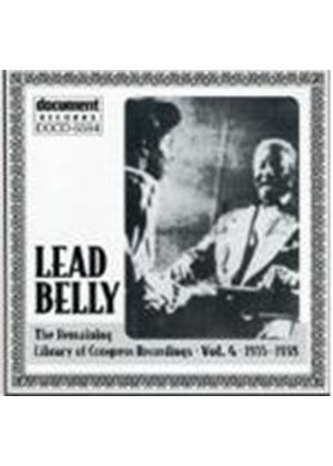 Leadbelly - Remaining Library Of Congress Recordings Vol.4 1935-1938