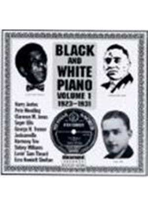 Various Artists - Black And White Piano Vol.1 1923-1931