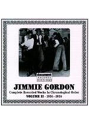 Jimmie Gordon - Jimmie Gordon Vol.2 1936-1938
