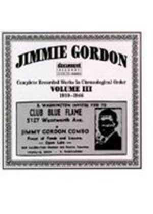 Jimmie Gordon - Jimmie Gordon Vol.3 1939-1946