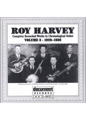 Roy Harvey - Complete Recorded Works Vol.3 1929-1930, The