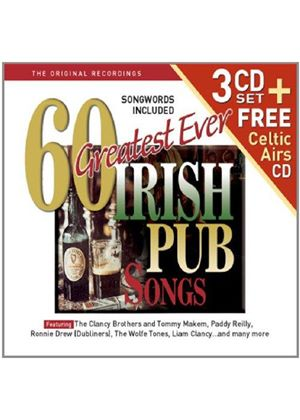 Various Artists - 60 Greatest Irish Pub Songs