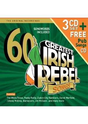 Various Artists - 60 Greatest Irish Rebel Songs