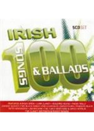 Various Artists - 100 Greatest Irish Ballads And Songs (Music CD)