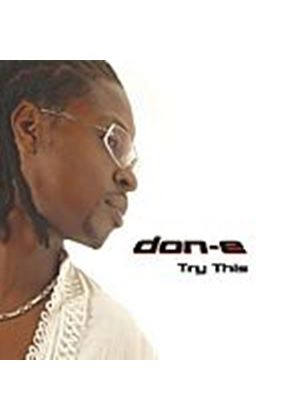 Don E - Try This (Music CD)