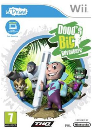 Doods Big Adventure - uDraw (Wii)
