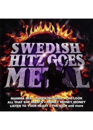 Various Artists - Swedish Hitz Goes Metal (Music CD)