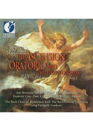 Bach: (The) Ascension Oratorio; Festive Cantatas