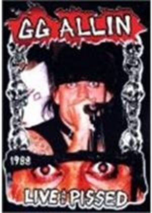 GG ALLIN-LIVE & PISSED        (DVD)