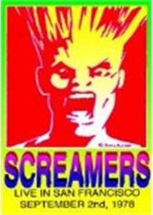 SCREAMERS-LIVE IN 1978        (DVD)