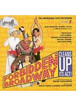 Original Soundtrack - Forbidden Broadway Cleans Up Its Act OST (Music CD)