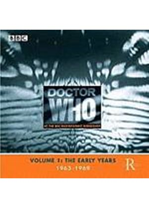 Various Artists - Doctor Who At The Radiophonic Workshop Volume 1 (Music CD)