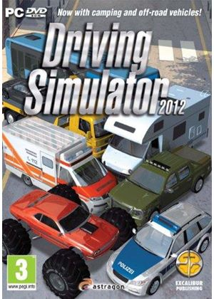Driving Simulator 2012 (PC DVD)