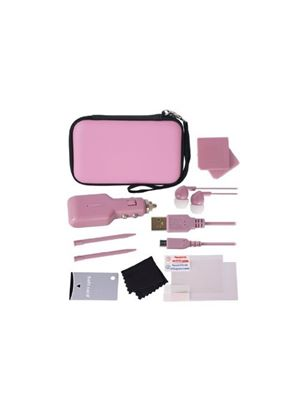 Crown 12-in-1 Deluxe Accessory Pack: Pink (Nintendo 3DS)