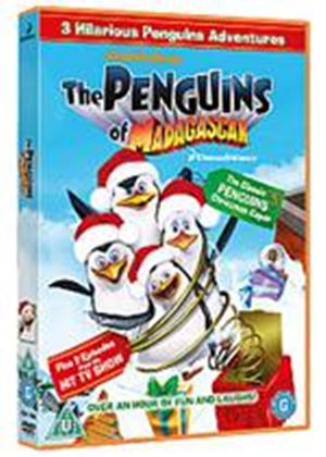Merry Madagascar And Penguins Of Madagascar Xmas Caper