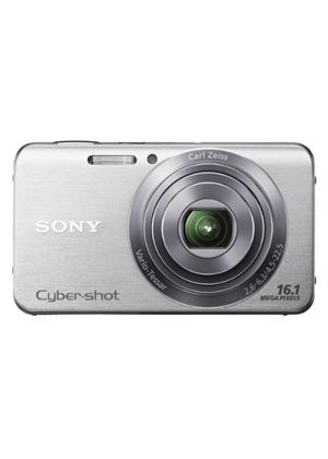 Sony DSCW630 Digital Compact Camera - Silver (16.1MP, 5x Optical Zoom) 2.7 inch LCD