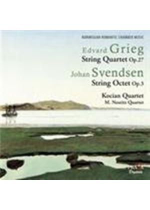 Grieg: String Quartet; Svendsen: Octet [SACD] (Music CD)