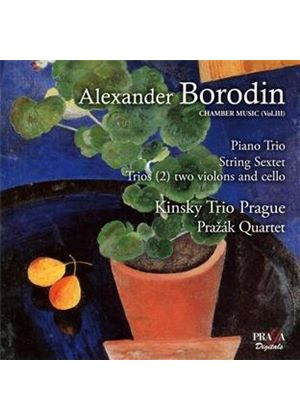 Borodin: Piano Trio; String Sextet; Trios (2) Two Violina and Cello [SACD] (Music CD)