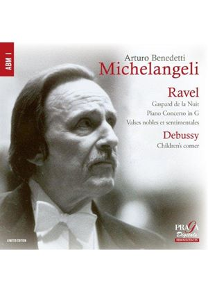 Ravel: Gaspard de la Nuit; Piano Concerto in G; Valses Nobles et Sentimentales; Debussy: Children's (Music CD)