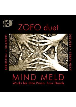 Mind Meld: Two Composers Share the Bench (Music CD)
