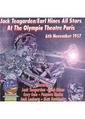 Jack Teagarden & The Earl Hines All Stars - At The Olympia Theatre Paris (6th November 1957)