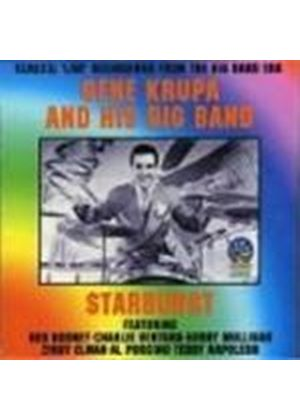 GENE KRUPA & HIS BIG BAND - Starburst (Classic Live Recordings From The Big Band Era)