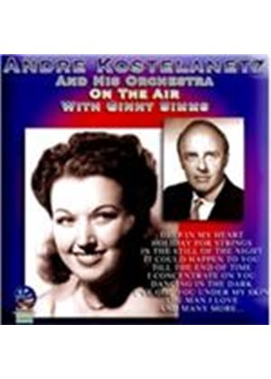Andr� Kostelanetz - On the Air with Ginny Sims (Music CD)