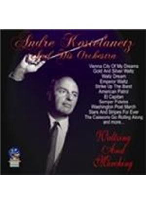 André Kostelanetz Orchestra - Waltzing and Marching (Music CD)