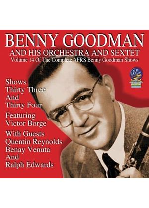 Benny Goodman - AFRS Benny Goodman Show, Vol. 14 (Music CD)