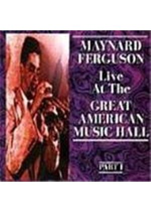 Maynard Ferguson - Great American Music Hall 1972 Vol.1
